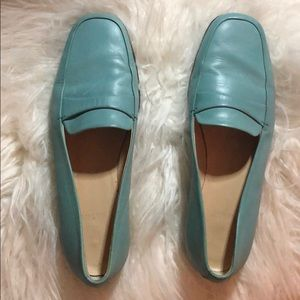 Bally leather loafers size 37.5
